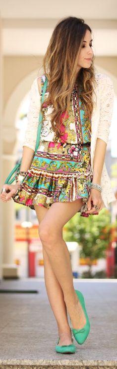 Look Du Jour: Le Papillon | by Fashion Coolture