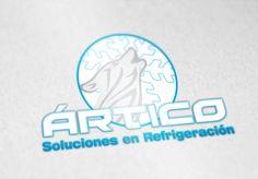 Diseño de Logotipo Ártico Soluciones en Refrigeración