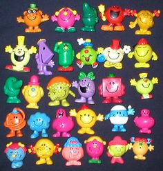 Arby's kids meal toys in the 80's--Mr men Lil miss (by shemir2, via Flickr)