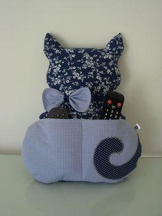 Cute idea - remote control holder