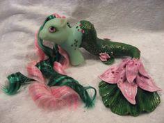 My little pony custom Nereida the water by AssassinKittyCustoms, £45.00