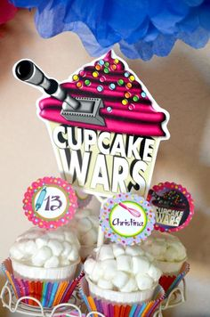 """Cupcake Wars"" cupcakes"
