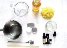 Cómo hacer un perfume sólido