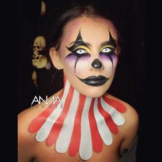 Anna Lingis Artist Here is one of the first looks I created over Halloween on my…
