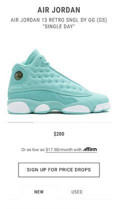 wholesale dealer b3512 a5b79 Jordan Shoes Girls, Girls Shoes, Green Jordans, Retro 13, Jordan 13,