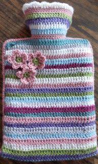 lovedotty : Pattern - Stripy Hot Water Bottle Cosy