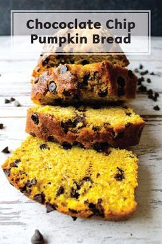 Insanely moist and loaded with chocolate chips, this pumpkin bread recipe is delicious down to every last crumb, so serve each slice with Bounty Paper Towels so you don't miss any! This fall dessert is a great treat to keep around the house for a healthy snack or an easy dessert for a packed lunch.