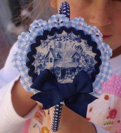 diadema casita azul