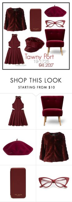 """""""tawny PORT"""" by malalaustylish on Polyvore featuring Hollister Co., AT.P.CO, Ted Baker and Prada"""