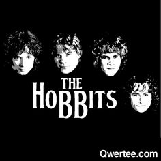 The Hobbits | Qwertee : Limited Edition Cheap Daily T Shirts | Gone in 24 Hours | T-shirt Only £8/€10/$12 | Cool Graphic Funny Tee Shirts