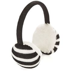 KATE SPADE NEW YORK Fall In Line Earmuffs (1,380 MXN) ❤ liked on Polyvore featuring accessories, earmuffs, hats, kate spade and kate spade earmuffs
