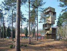 Viewing Tower, una Torre-mirador inspirada en las casitas del árbol / Ateliereen architecten - Noticias de Arquitectura - Buscador de Arquitectura