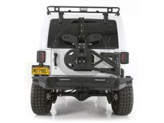Smittybilt SRC Rear Bumper for Jeep® Wrangler and Wrangler Unlimited JK Jeep Wrangler Accessories, Jeep Accessories, Jeep Wrangler Tires, Wrangler Rubicon, Jeep Bumpers, Jeep Brand, Cool Jeeps, Wrangler Unlimited, Offroad