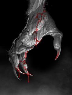 Werewolf's Hand by Michele Benevento