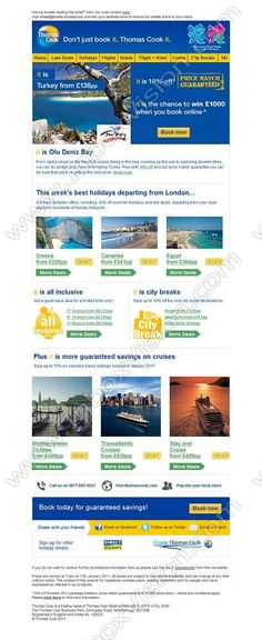 Company:    Thomas Cook Tour Operations Ltd.   Subject:    It is Turkey summer holidays from GBP136pp            INBOXVISION is a global database and email gallery of 1.5 million B2C and B2B promotional emails and newsletter templates, providing email design ideas and email marketing intelligence www.inboxvision.com/blog  #EmailMarketing #DigitalMarketing #EmailDesign #EmailTemplate #InboxVision  #SocialMedia #EmailNewsletters