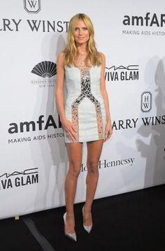 Heidi Klum at the AmfAR Gala 2015. Click on the image to read more.