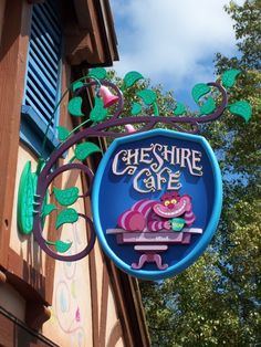 The new Cheshire Cafe, Magic Kingdom, Walt Disney World. By flourpower89.