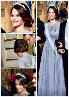 Princess Sofia attends an official dinner tonight at the Royal Palace || 23.11.2017