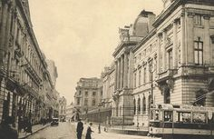 Old Bucharest: Lipscanii – inima Bucurestiului medieval Old Pictures, Old Photos, Little Paris, Old City, Photo Archive, Timeline Photos, Romania, Beautiful Images, Cartier