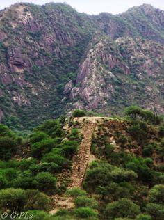 Asentamiento Inca, en Shincal de Quimivil, cerca de la ciudad de Londres, provincia de Catamarca, Argentina