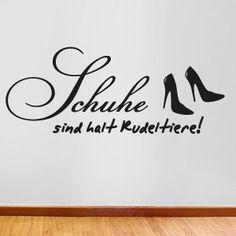 """""""Schuhe sind halt Rudeltiere"""""""