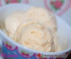 Παγωτό καρύδας Coconut Desserts, Easy Desserts, Coconut Ice Cream, Greek Recipes, Cooking Time, Sweet Tooth, Food And Drink, Granite, Sugar