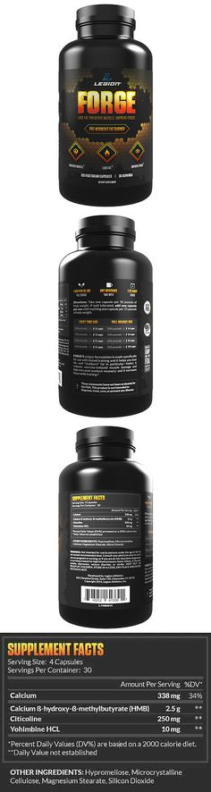 Fat Burners: Legion Forge Belly Fat Burner - Helps With All Stubborn Fat, All Natural. BUY IT NOW ONLY: $31.95