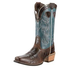 A hard working boot with some hot sauce. The Evolution outsole looks and performs like leather, wears and resists barnyard acids like rubber. The soles are colored to match the uppers, and feature a distinctive tribal design etched into the bottom. ATS
