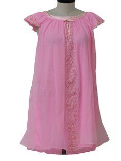 Cute vintage 60's nightgown @ rustyzipper