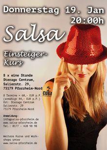 Laufende Kurse: salsa pforzheim