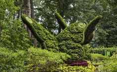 Fantastical Living Plant Sculptures Spring to Life at the Atla...