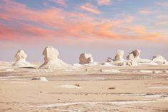 Bahariya Oasis. The White Desert