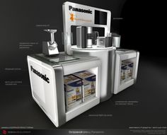Panasonic Kitchen POS by Nikolay Grachev, via Behance