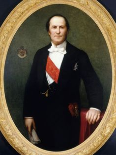 Portrait du baron Haussmann (1809-1891) by Henri Lehmann (attribué à) (1814 - 1882)