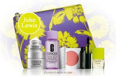 John Lewis (UK) bonus time - free with 2 Clinique products purchase (one should be skincare or foundation). http://clinique-bonus.com/united-kingdom/