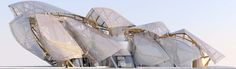 Louis Vuitton Foundation striking Glass Building in Jardin d'Acclimatation in Paris by Frank Gehry