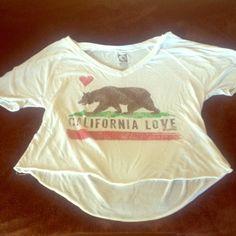 BillaBong California love T-Shirt California Love billabong t-shirt. Gently used, nothing wrong with It. 50% cotton, 50% polyester. Billabong Tops Tees - Short Sleeve