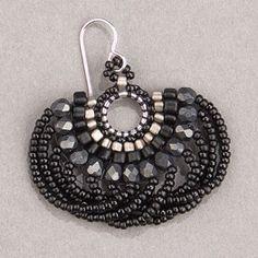Black Beauty Looplicity Earrings