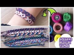 Cold Brew At Home, Handmade Friendship Bracelets, Armband Diy, Diy And Crafts, Make It Yourself, Gifts, Youtube, Jewelry Knots, Decoration