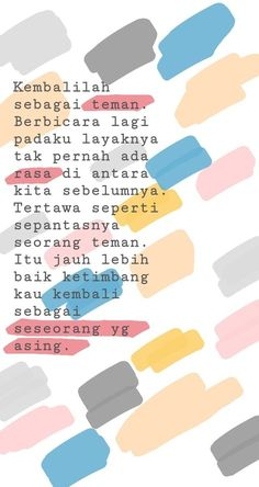 New Ideas Quotes Indonesia Rindu Motivasi Neue indonesische Ideen zitieren Miss Motivation The post Neue indonesische Ideen zitieren Miss Motivation & quoted appeared first on Quotes . Quotes Sahabat, Story Quotes, Tumblr Quotes, Heart Quotes, Mood Quotes, People Quotes, Happy Quotes, Motivational Quotes, Life Quotes