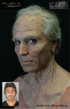 the makeup to make this guy appear older is great for the scene when athena turned Odysseus older Special Makeup, Special Effects Makeup, Mask Makeup, Costume Makeup, Movie Makeup, Party Makeup, Spx Makeup, Horror Make-up, Old Age Makeup