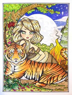 """""""For the Night"""" 📚 Hannah Lynn August VIP page 🖍Prismacolor Premiers, Derwent Coloursoft, Chalk Pastels, and White Gelly Roll Colouring Pages, Adult Coloring Pages, Coloring Books, Awesome Art, Cool Art, Hannah Lynn, Butterfly Baby, Colouring Techniques, Chalk Pastels"""