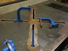 Welding Table, Diy Welding, Table Plans, Table Settings, Plan De Tables