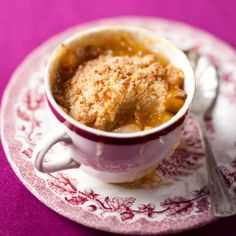 Give renewed flavour to #apple crumble with marmalade and coconut. #picknpay #recipe #freshliving