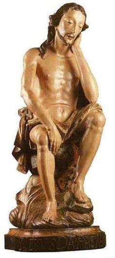 Museu e Arquivo de Rio Espera: Bom Jesus da Paciência Esculpido em Rio Espera Ple...