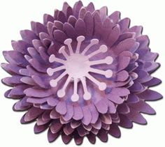 3d layered flower three by Jamie Cripps