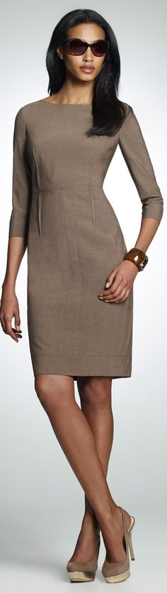 Example #1: notice how this simple, but impeccably tailored Jones New York sheath looks far more expensive than....