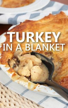 Rachael Ray prepared her Turkey in a Blanket recipe as an alternative to Turkey Wellington for her Wild Turkey Week leading up to Thanksgiving.