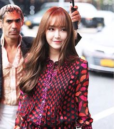 2015 snsd Jessica Jung New York fashion week in DVF perfection