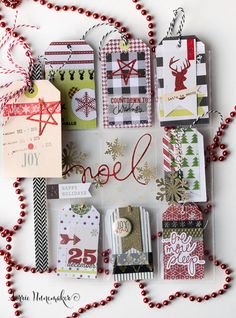 I have been making Christmas Pocket Letters.         I have been making A LOT of Christmas Pocket Letters.....        I may have gone overbo...